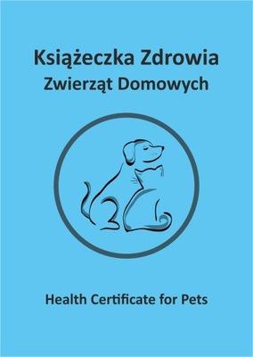 Książeczka zdrowia dla psa