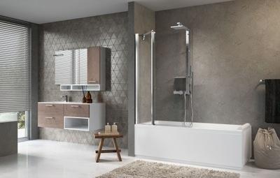 Sprchové dvere - NOVELLINI Vane AURORA 3 chróm 98x150