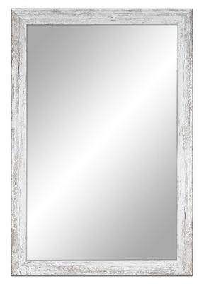 зеркало потертый 87x47 см белое ,Серые ,коричневые,черные