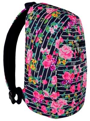 Školká taška, batoh, ruksak - ST.RIGHT BACKPACK BP09 LIGHT ROSES 618499