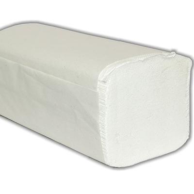 Osuška, uterák - Ręczniki papierowe ZZ 2-warstw 100% CELULOZA BIAŁE