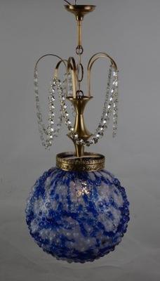 Оригинальная лампа с абажуром из Муранского Исп. 50 -327