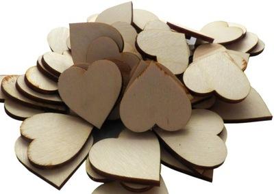 сердца деревянные , сердечки 2см декупаж 100шт