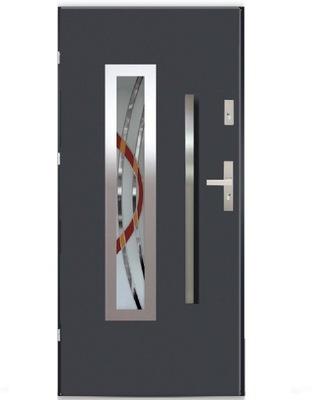 двери Внешние PICASSO LUX Стали ПЕРИЛА