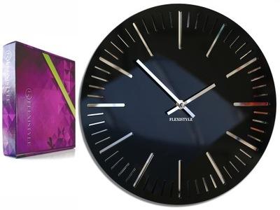 Большой современный часы настенный TRIM блеск зеркало