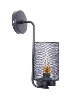 Sconce lampa kinkietowa RETRO štýl Edison Black