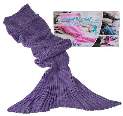 VEĽKÉ KOBERČEKY MORSKÁ víla fialová prehoz cez posteľ 180 cm Darček s ru