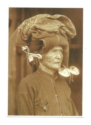 П / я. - женщина из ювелирные изделия / Batakowie / Суматра
