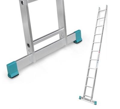 Hliníkový rebrík przystawna 1x11 3,13 m + BODNÚŤ.