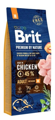 Brit премиум BY NATURE ADULT медиум ? 15 КГ