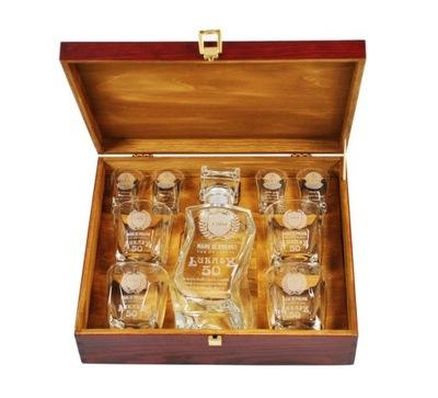 графин стаканы на 18 30 40 50 день рождения подарок