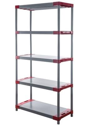 Regál - polica -  Skladovací stojan ako kov Titanium-5 180x80x46