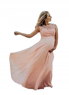 b683a4e4 Weselne sukienki dla kobiet w ciąży - Allegro.pl