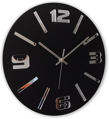 Тихий часы instagram Черный атласный ? зеркалом W03