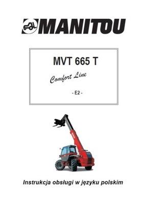 MANITOU MVT 665 T COMFORT LINE - ИНСТРУКЦИЯ PL