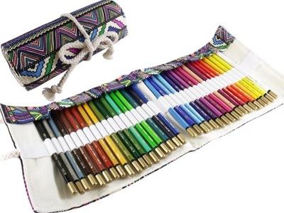 Peračník je zrolovaný AZETEC + farebné ceruzky 72 kusov Koh I Noor