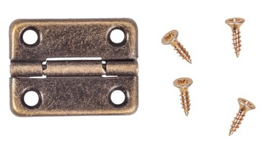 ПЕТЛЯ ??? коробки ШКАТУЛКИ металлический декоративный бронза