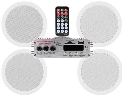 Радио для ВАННОЙ звуковая система ПОТОЛОЧНЫЕ MP3 FM USB