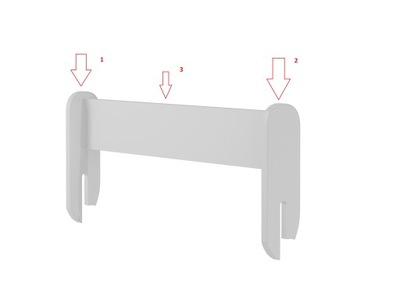 Ikea Barierka Ochronna Do łóżka Dziecięcego Vikare