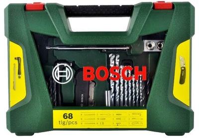 комплект V-LINE 68szt. СВЕРЛ и НАКОНЕЧНИКОВ Bosch
