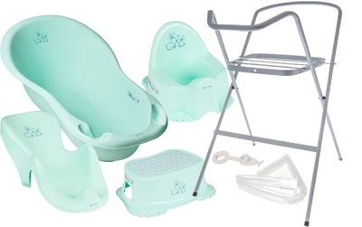 VAŇA NASTAVIŤ 6w1 TEGA baby KÚPEĽ DECKCHAIR STOJAN HRNIEC