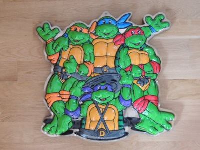 Zbawka ретро вывеска кулон черепахи ниндзя 1990 ПНР