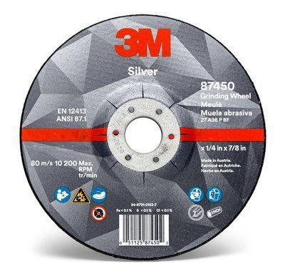 3M диск ??? шлифования металла Silver 127x7 51748