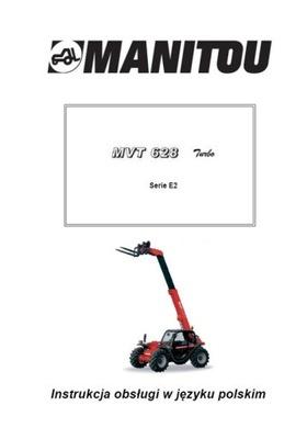MANITOU MVT 628 T SERIE E2 - ИНСТРУКЦИЯ PL