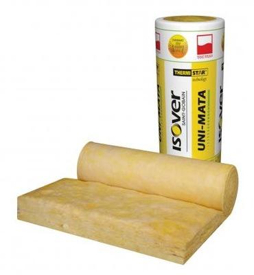 утеплитель минеральная Uni-коврик ISOVER гр.Сто пятьдесят - 14 ,49 /м2