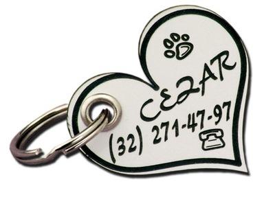 Идентификатор, adresówka , гравер для Собаки +