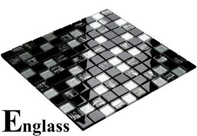 Мозаика стеклянная BLACK TIGER ENGLASS