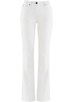 9a6669cc Jeansy damskie jasne proste spodnie biodrówki 42 - 2846108456 ...