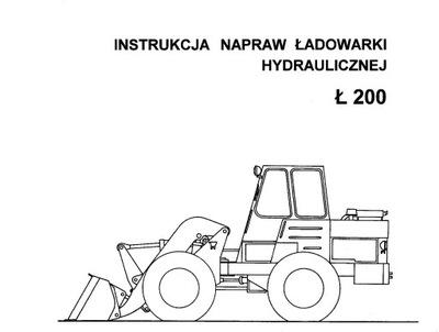 ИНСТРУКЦИЯ РЕМОНТА LADOWARKI HYDRAULICZNEJ L 200