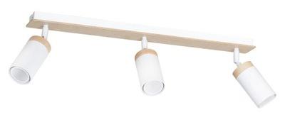 Svietidlá stropné svietidlá - SPOT HALOGEN PLAFON SUFITOWY ELBA 3 LED