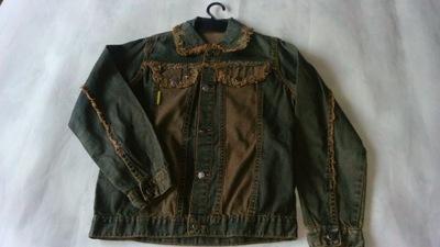 f2096e06605c3 Kurtka dziewczęca jeans 134 WYPRZEDAŻ 7556028452 - Allegro.pl