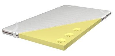 Podložka na matrac - Nakładka na materac MEMORY VISCO 160x200 6cm