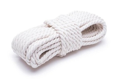 4мм хлопковая Веревка соединяется белая троса шнурок 20m