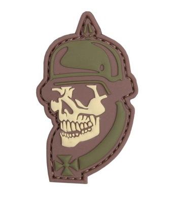 Naszywka 1914 Soldier Skull 3D PVC 101 Inc. Multic