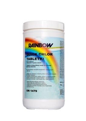 CHLÓR ŠOK TABLETY 20 g RÝCHLE RAINBOW CHLOR - 1 kg