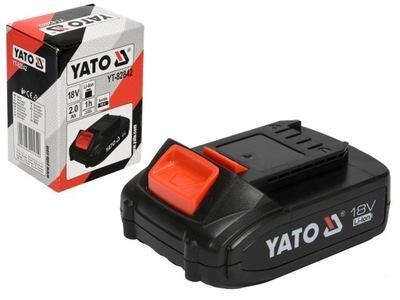@ UT-82842 BATÉRIE 18 V LI-ION batéria 2,0 AH YATO