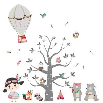 samolepky na stromček na sovu pre deti 200