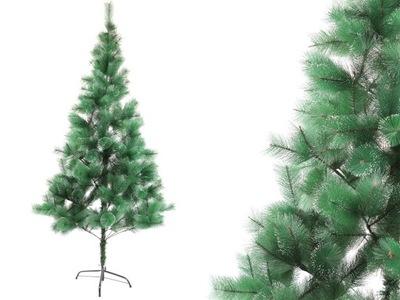 Vianočné stromčeky - STROM UMELÉ BIELA BOROVICA S KAMIENKAMI 210
