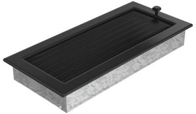 Rošt ohnisko black žalúzie 17x37 vetranie
