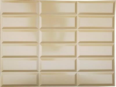 НАКЛАДКА на Стены плитки ЧУДО - ПВХ Листы 3D OS28