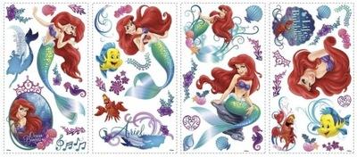 ROOMMATES: Mermaid ARIEL MULTIPLE WALL STICKERS