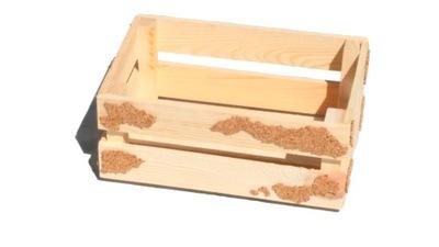 Skrzynka drewniana 30cm Osłonka Pojemnik Producent