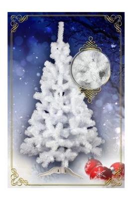 Vianočné stromčeky - umelý Strom 1,5 m (150 cm), Biela Uvoľnenie. Poľský