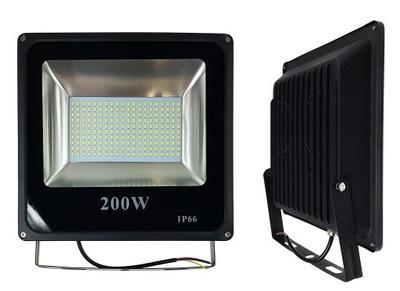 HALOGEN LAMPA NAŚWIETLACZ LED 200W REFLEKTOR SLIM