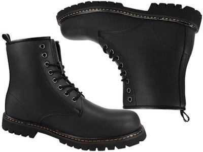 79c2092d SMITHS buty damskie - glany czarne matowe 39 7485653510 - Allegro.pl