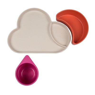 Tum Tum Eco Stolový Riad Ružová Cloud
